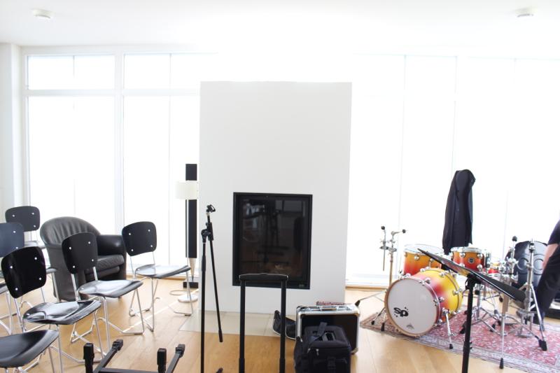Trio Indigo im Wohnzimmer