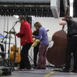 Absinto Orkestra in der Maschinenhalle