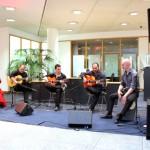 Rafael Cortes und Band in der Deutschen Bank
