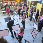 Pink Flute in der Keramikwerkstatt